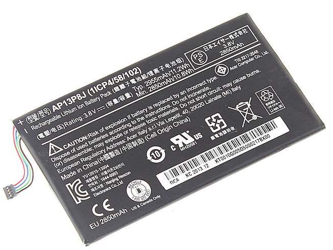 Acer Iconia Tab B1-720 Tablet Battery (1ICP4/58/102)
