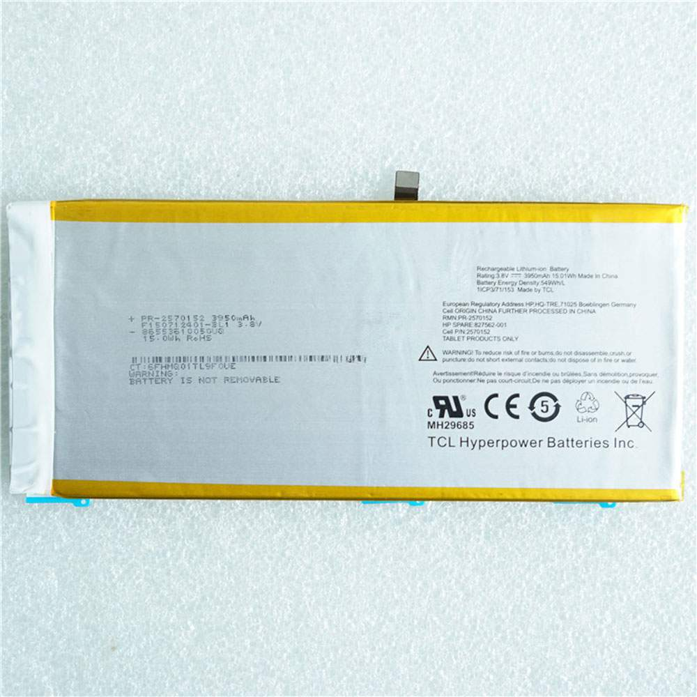 HP 827562-001 2570152 Tablet